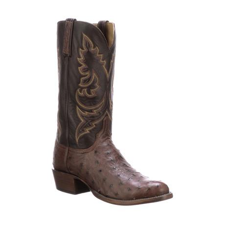 George Burn Ranch Cowboy Boots // Sienna (US: 7)