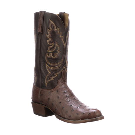 George Burn Ranch Extra Wide Cowboy Boots // Sienna (US: 7)