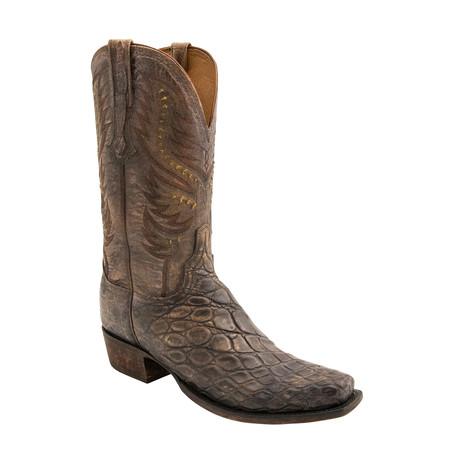 Tom Cowboy Boots // Stonewashed Tan (US: 7)