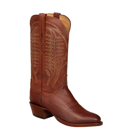 Hardin Ranch Extra Wide Cowboy Boots // Tan Burnished (US: 7)