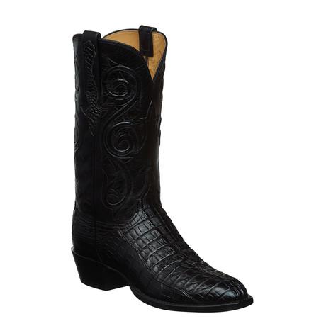 Bascom Cowboy Boots // Black (US: 7)
