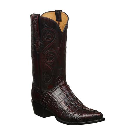 Chuck Cowboy Boots // Black Cherry (US: 7)
