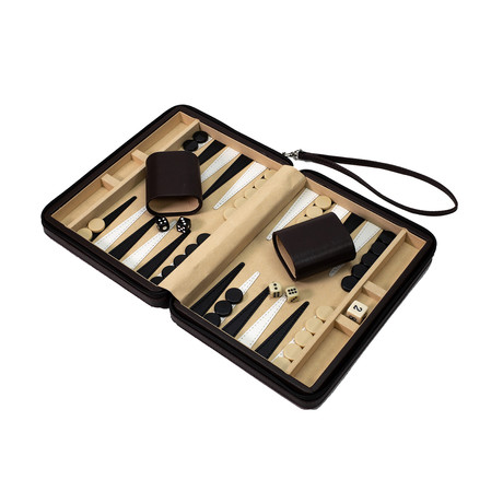 Travel Backgammon Set (Red)