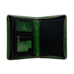Candide // Leather Documents Folder // Green