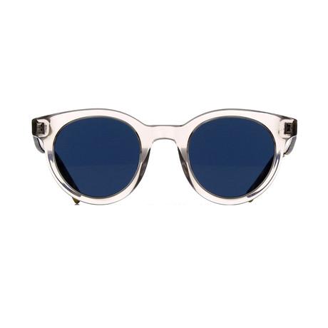 Dior // Men's BLACKTIE 218FS Sunglasses // Clear + Havana + Gray