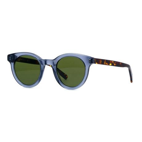 BLACKTIE 218S Sunglasses // Blue + Havana + Green