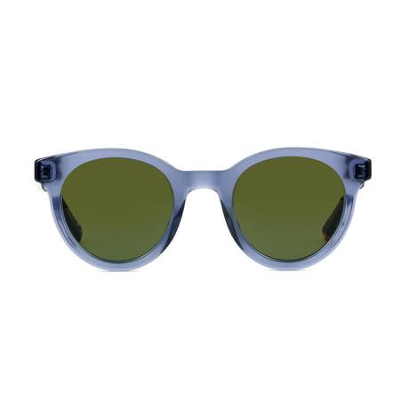 Dior // Men's BLACKTIE 218S Sunglasses // Blue + Havana + Green