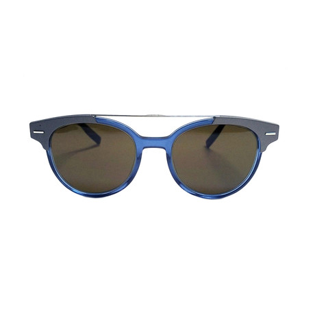 Dior // Men's BLACKTIE 220S Sunglasses // Blue Gray + Black Brown