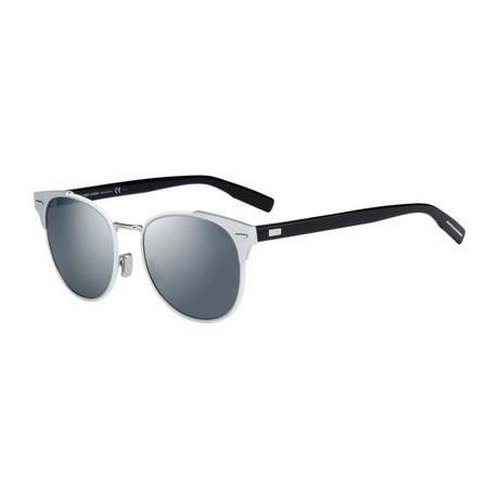 0206S Sunglasses // Matte Silver + Black