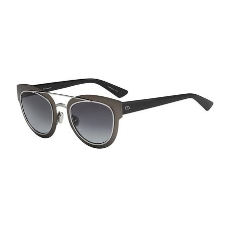 Diorchromic Sunglasses // Black Matte + Gray