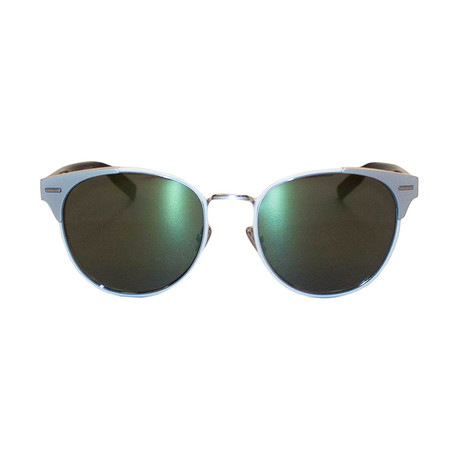 Dior // Men's 0206S Sunglasses // Matte Silver + Black
