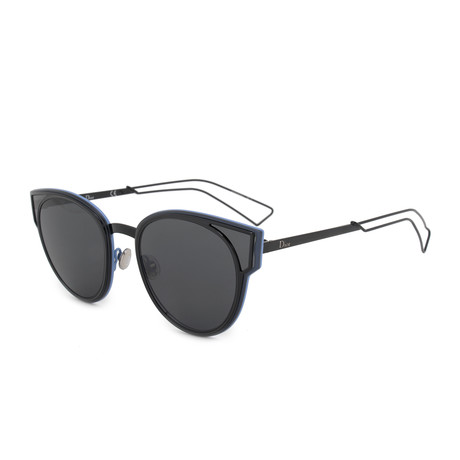 Dior // Women's Diorsculpt Sunglasses // Black + Gray