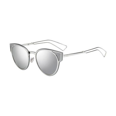 Diorsculpt Sunglasses // Silver