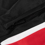 Marcelo Burlon // Kappa Track Pants // Black + Red (M)