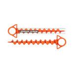 Orange Screw™ Ground Anchor // Set of 8 // Small