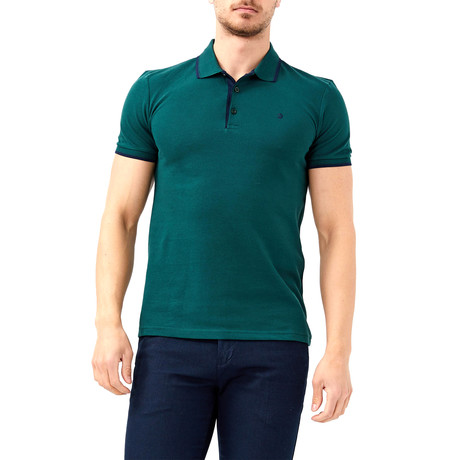 Hadrian Polo // Hunter Green (XL)