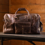 60L Weekender Duffel (Antique Brown)