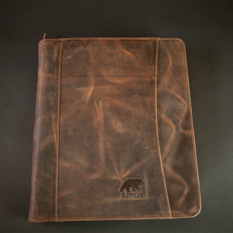 Nomad Portfolio (Antique Brown)