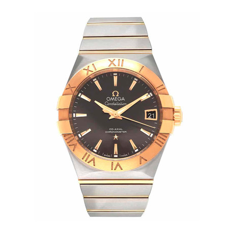 Omega Constellation Co-Axial Date Automatic // 123.20.38.21.06.001 // Store Display