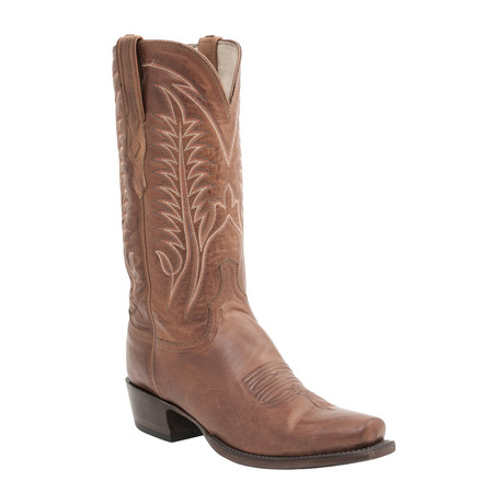 Wesley Ranch Cowboy Boots // Cognac Burnished (US: 7)