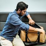 Cork Duffle Suitcase (Jet Black)