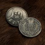 Iron Coin of the Faceless Man // Set of 2