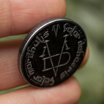 Thick Iron Coin of the Faceless Man