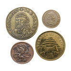 House Targaryen Set of Four Coins