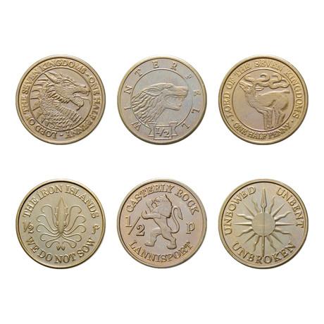 Set of Six Houses // Half-Pennies