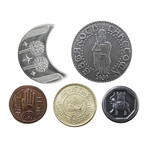 The Lord of the Rings™ Set 2 // Middle Earth Set of Five Coins
