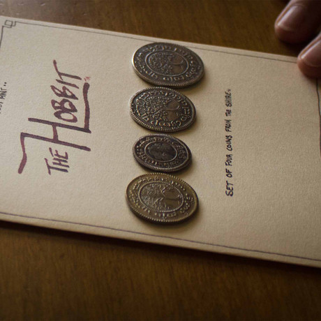 The Hobbit™ Set #2 // The Shire™ Deluxe Set of Four Coins