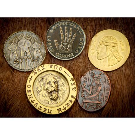 Conan Set #2 // Deluxe Set of Five Coins