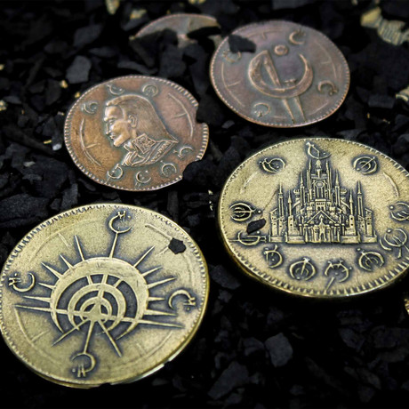 Mistborn Set #1 // Two Coins of The Final Empire