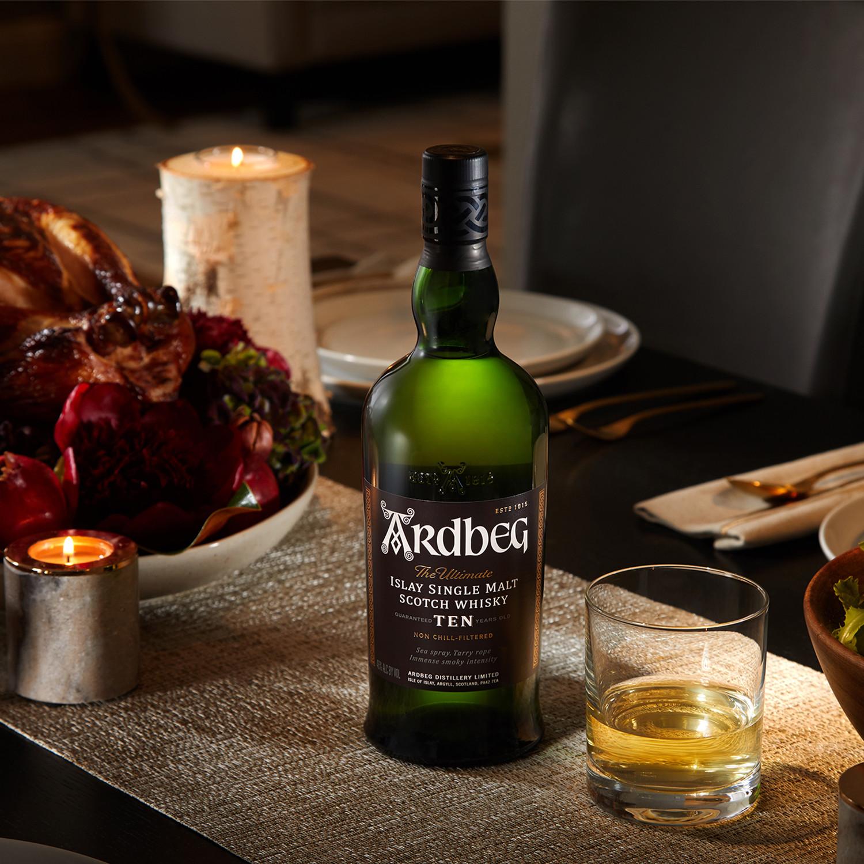 Ardbeg 10 Year Islay Single Malt Whisky // Campfire Gift