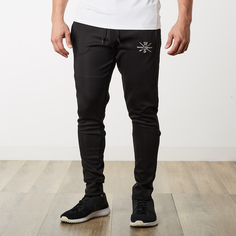The One + Only Track Joggers II // Black (S)