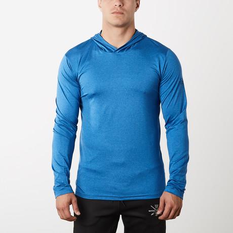 Method Dry Fit Tech Hoodie // Blue (S)