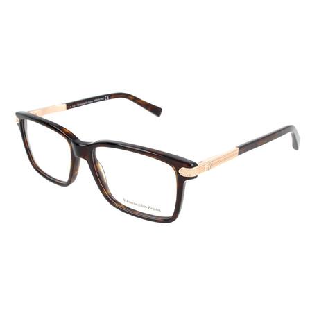 Men's EZ5009 052 Optical Frames // Dark Havana