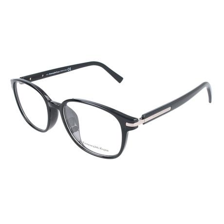 Men's EZ5004-F Optical Frames // Shiny Black