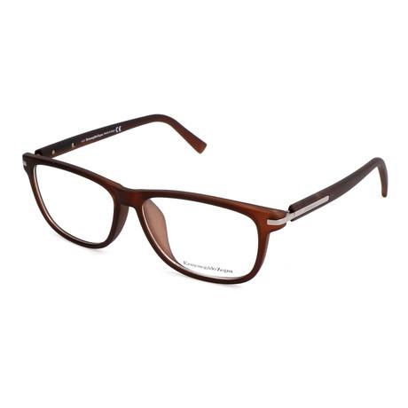 Men's EZ5005-F Optical Frames // Matte Dark Brown