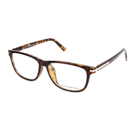 Men's EZ5005-F 052 Optical Frames // Dark Havana