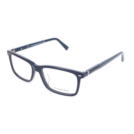 Men's EZ5037-F Optical Frames // Matte Blue