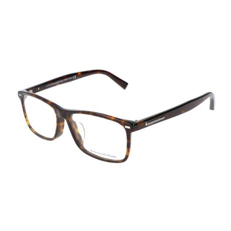 Men's EZ5056-F 052 55mm Optical Frames // Dark Havana