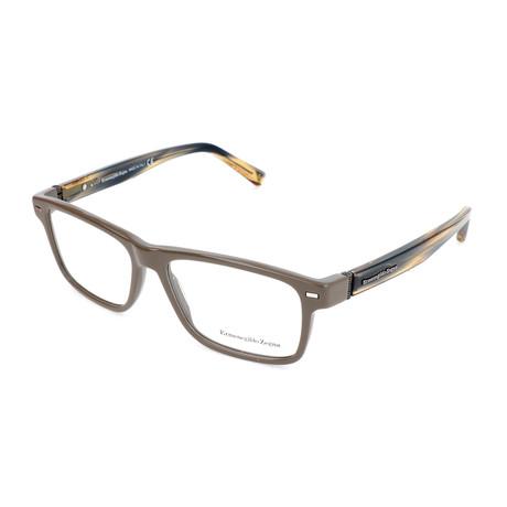 Men's EZ5073 Optical Frames // Light Brown