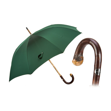 Classic Umbrella // Solid Chestnut Stick