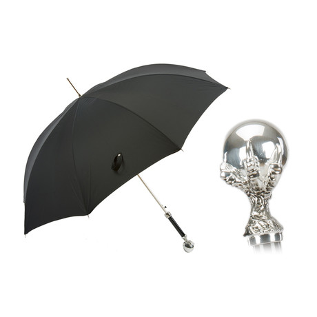 Long Umbrella // Silver Claw Handle