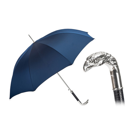 Silver Eagle Navy Umbrella