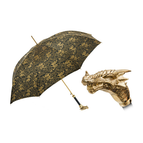 Golden Dragon Umbrella