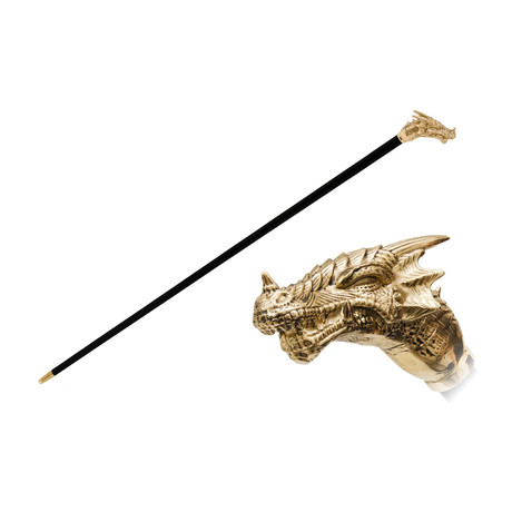 Golden Dragon Cane