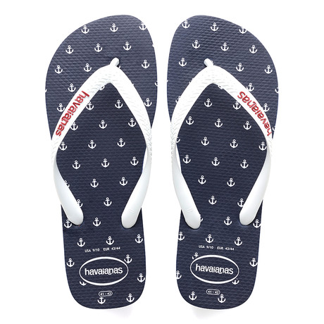 Top Nautical Sandal // Navy Blue (US: 8)