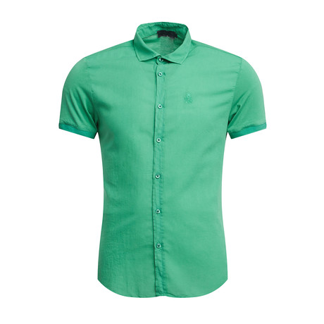 Bronson Slim Fit Shirt // Marine Green (S)